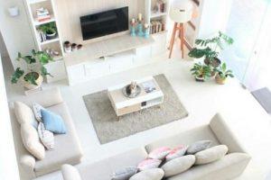 Ada Yang Unik Dari Pilihan Model Desain Ruang Keluarga beserta Furniturenya