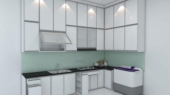 Cara Menghitung Biaya / Harga Pembuatan Kitchen Set Per Meter bahan Multiplek – Aluminium – PVC