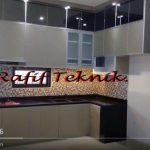 Mewah Banget Kitchen Set Aluminium Full Kabinet
