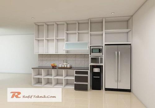 tampilan dalam kitchen set