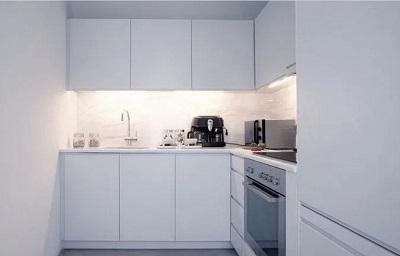 ruangan dapur sederhana