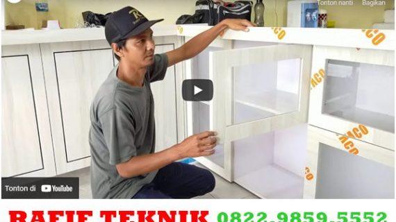 Review Lengkap Kitchen Set PVC anti Rayap