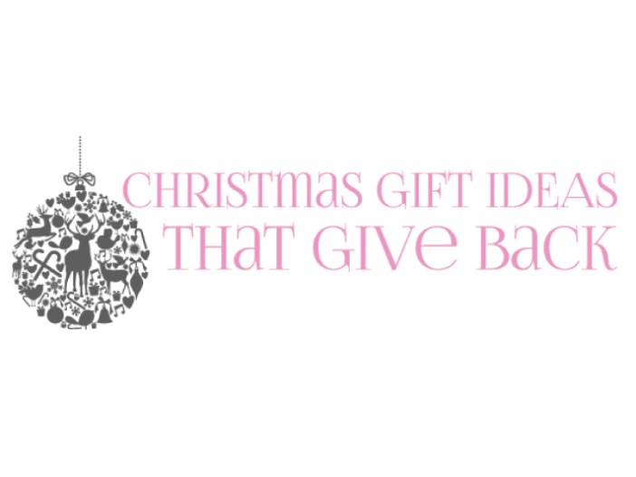 Christmas ideas that give back