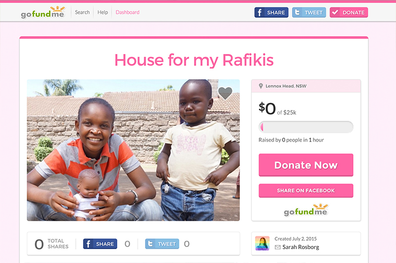 A new house for our Rafikis