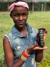 ECO TAN first monthly donation from hand cream