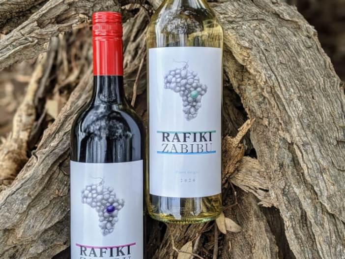 Rafiki Zabibu Red and White Wine