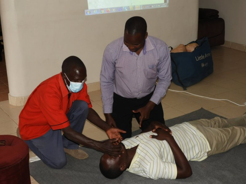 Managers First Aid Course at Doyle Farm
