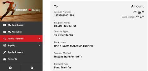bank islam - rameli musa