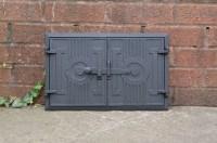 42 x 27.2 cm cast iron fire door clay / bread oven doors ...