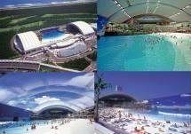 Seagaia Ocean Dome Pantai Buatan Jepang Terbesar Di Dunia