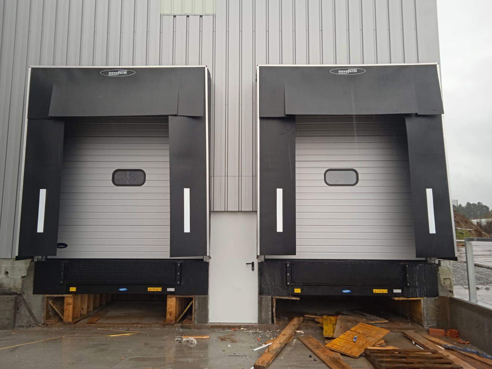 Muelles de carga instalados en Tui (Pontevedra) 2