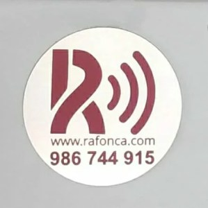 Etiqueta actual Rafonca