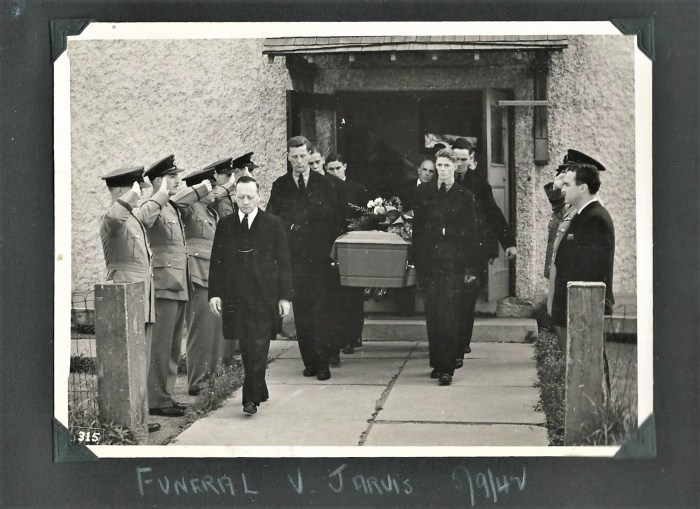 funeral of mcintyre friend jarvis