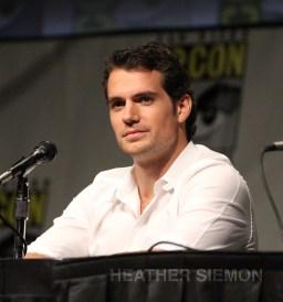 Henry Cavill at Comic-Con 2012