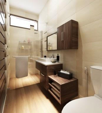 Kamar Mandi Utama (Master Bathroom)