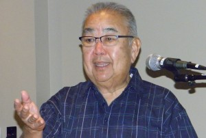 Warren Furutani (Rafu Shimpo photo)
