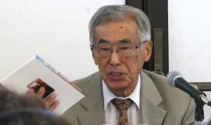 """Rev. Haruyoshi """"Harry"""" Fujimoto, author of """"The Way Down to Gaza."""""""