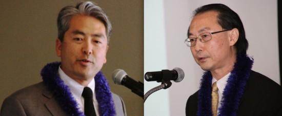 Assemblymember Al Muratsuchi and JACL National President David Lin