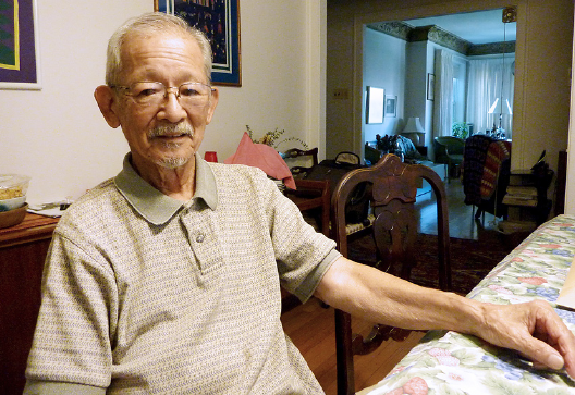 """Growing up on Chicago's North Side, """"Rocky"""" Yamanaka recalled few incidents of racism. """"Me and my sister were the only Japanese. But we were curiosities to most of the Caucasians there,"""" he said."""
