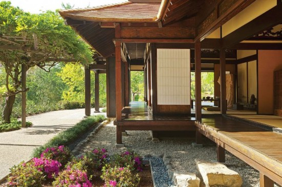 Kelly Sutherlin McLeod Architecture's Restoration of Huntington Japanese House.