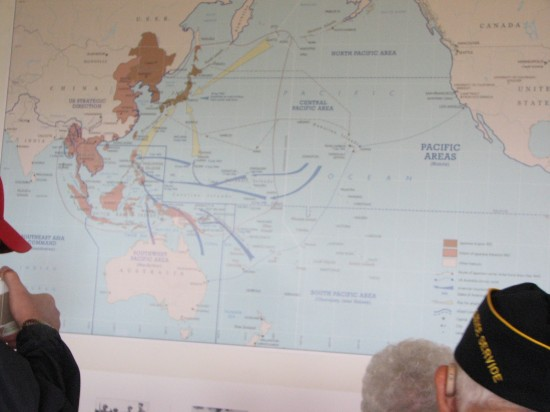 This map shows the vast Pacific Theater, where the MIS was involved in every major campaign.