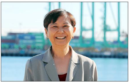 Eileen Yoshimura (Photo courtesy of Port of Los Angeles)