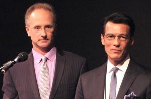 Jeff McIntyre and David Ono of ABC 7.