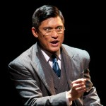 """Paolo Montalban as Mike Masaoka in the San Diego premiere of """"Allegiance."""" (Photo by Henry DiRocco)"""