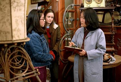 "Keiko Agena, Bledell and Emily Kuroda in a scene from ""Gilmore Girls."""