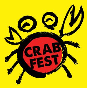 crab fest graphic