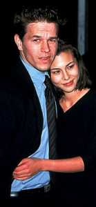 Mark Wahlberg with then-girlfriend China Chow.