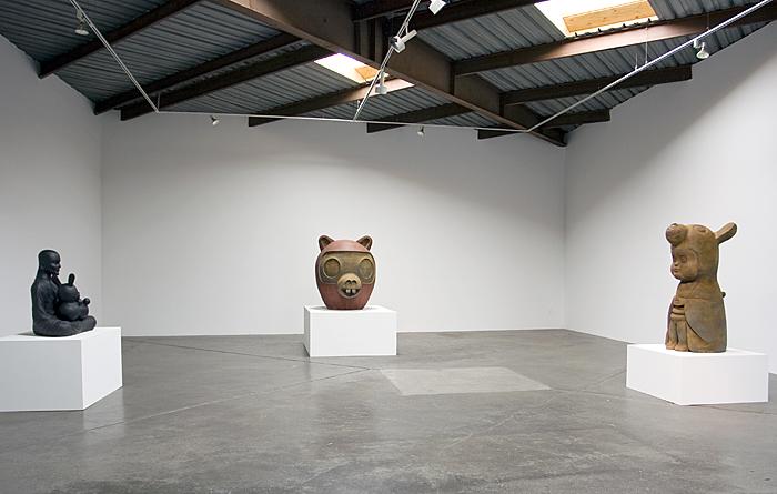 ギャラリーで個展を開いた時に展示した作品
