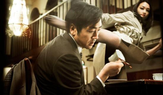 "A scene from Hitoshi Matsumoto's ""R100."""