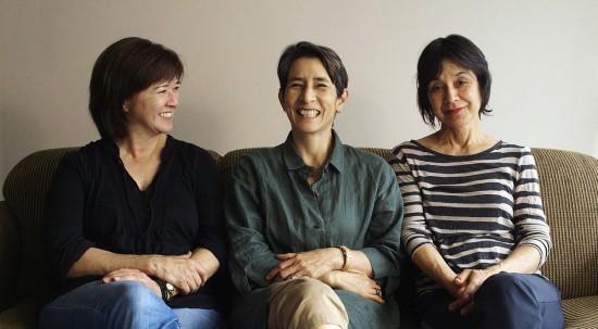From right: Katheryn Tolbert, Lucy Craft and Karen Kasmauski.