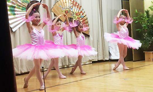 Ballet dancers perform at the Valley Japanese Community Center's Shinnenkai.
