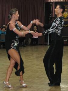 Yulia Dragina and Artemi Okunev