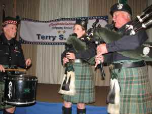 LAPD Emerald Society Pipes and Drums.