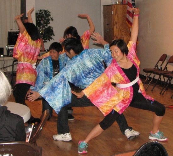 Members of NSU Yosakoi from Berkeley.