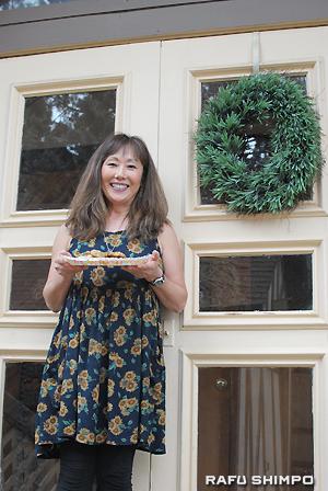 「日本のおもてなしを心がけています」と話すオーナーの清恵・クラインさん