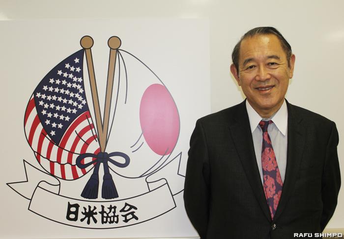 日米協会の会長として国際舞台の第一線で活躍する人物を招き講演会なども開催する藤崎氏
