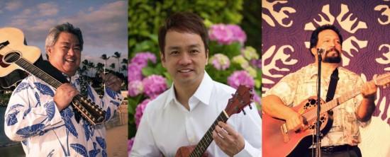 George Kahumoku Jr., Daniel Ho, Jerome Koko