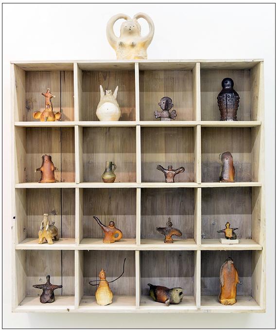 Otani Workshop is featured in the Blum & Poe exhibit. (Photo by Ikki Ogata)