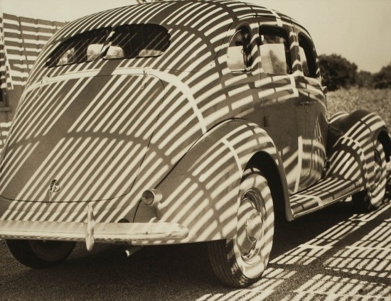 """Henry Hayashida, """"Streamline."""" C. 1935. Gelatin silver print. Collection of the Japanese American National Museum. (From """"Making Waves"""")"""