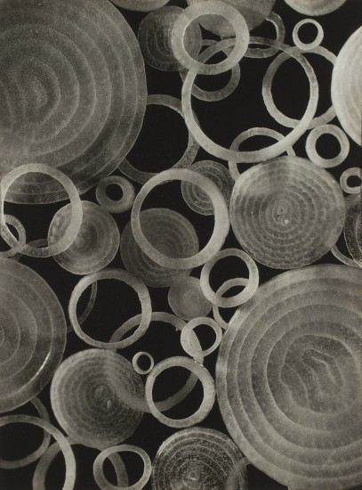 """Midori Shimoda, """"Carnival of Onions."""" Early 1930s. Gelatin silver print. Private collection. (From """"Making Waves"""")"""