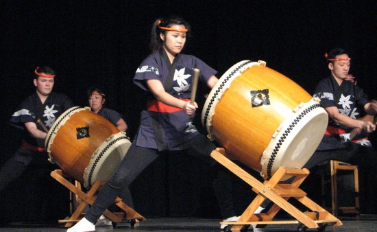 San Jose Taiko performed a piece composed for Day of Remembrance.
