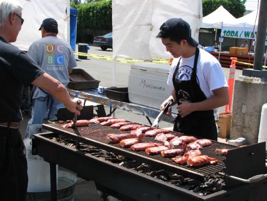 Ika (squid) is one of the delicacies served at OCBC's Hanamatsuri. (Rafu Shimpo photo)