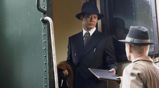 "Toshiaki Karasawa as Chiune Sugihara in a scene from ""Persona Non Grata."""