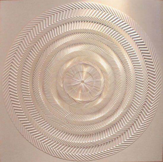 "Yuko Nishimura, ""Shine,"" 2008. Paper. Photo courtesy of the artist."