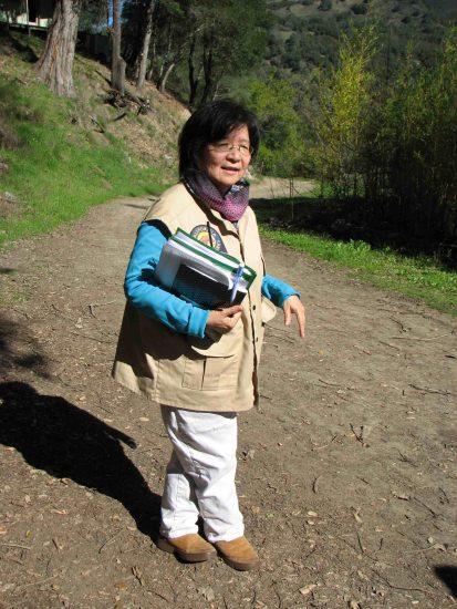 Gilroy Yamato Hot Springs volunteer Laura Dominguez-Yon.