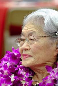 Tomoye Takahashi,1915-2016 (Photo by Kahn Yamada)